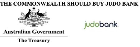 The Commonwealth should buy Judo Bank.